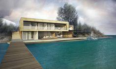 Chata pri jazere, Slovensko | RULES Architekti