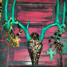 Someday when I kill my second or third buck, it will be my jewelry holder