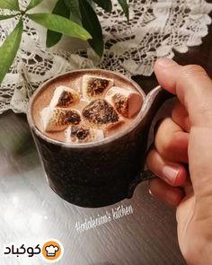 شوكولاته ساخنه مع المارشملو Food Desserts Pudding