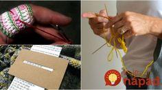 15 geniálnych trikov, s ktorými si pletenie a háčkovanie zamilujú aj úplní začiatočníci!