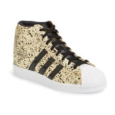 check out a1ec6 eb5d2 adidas  Superstar Up  Hidden Wedge Leather Sneaker, 2 1 2
