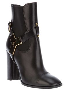 Saint Laurent strappy ankle boot