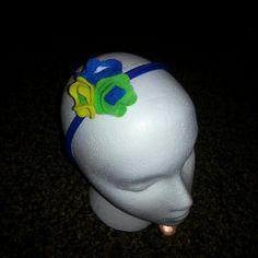 Flower headband I made