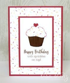 This month we will be making a set of 9 cards (3 each of 3 designs) using the sweet Sugar Rush papers and coordinating Sugar Rush—Cardm...
