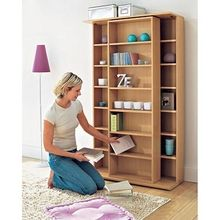 Sliding CD/DVD shelf (in #