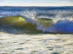 """Jeanne Rosier Smith ~ """"I Can See Clearly Now"""" ~ Pastel 12 x 16"""
