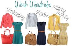 fall work wardrobe ideas