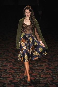 Lena Hoschek Fall/Winter 2012 Collection - Forgotten Futures
