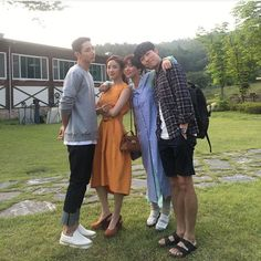 The lucky team bts Ryu Joon Yeol, Chung Ah, Hwang Jung Eum, Fated To Love You, My Love From Another Star, Oh My Venus, Sungkyunkwan Scandal, Hyeri, Weightlifting Fairy