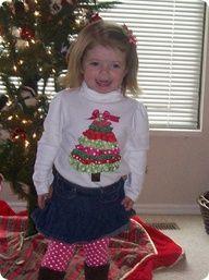 "Little Girls Christmas Tree Shirt"" data-componentType=""MODAL_PIN"