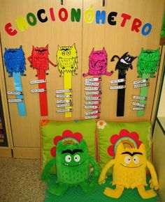 Emotions Preschool, Feelings Activities, Preschool Classroom, Preschool Activities, Colors And Emotions, Feelings And Emotions, Monster Activities, Toddler Activities, Feelings Chart