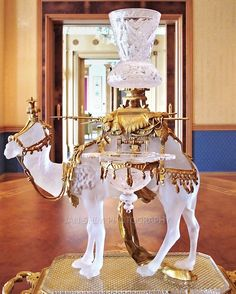 Baccarat Crystal Camel at the Empire Hotel in Brunei. The Empire Hotel & Country Club is situated in Brunei by the South China Sea. Truly one of the finest golf, meeting and spa resorts in the Asia Pacific Region.