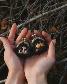 My Owl Barn: Beautiful Hand Embroidered Products by Ellen Tyn Embroidery Art, Cross Stitch Embroidery, Embroidery Patterns, Halloween Themes, Beautiful Hands, Needlework, Sewing Projects, Creations, Crafty
