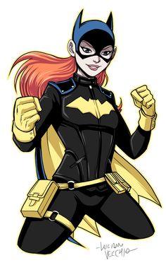 Batgirl Repaint by Luciano Vecchio