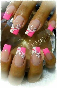 Opting for bright colours or intricate nail art isn't a must anymore. This year, nude nail designs are becoming a trend. Here are some nude nail designs. French Nail Designs, Creative Nail Designs, Colorful Nail Designs, Toe Nail Designs, Creative Nails, Orange Nail Designs, French Nails, Diy Nails, Cute Nails
