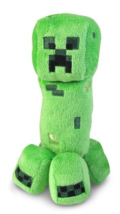 "Minecraft 7"" Plush (Creeper, Enderman or Ocelot) $7"