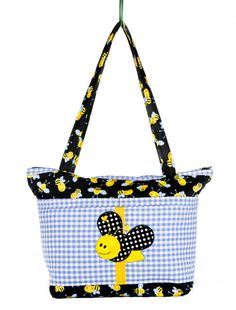 Diaper Bag Bumble Bee Baby Shower Bee Baby Honey by SewBusyBags