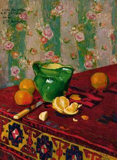 Georges Daniel de Monfreid - Still Life with Oranges, 1908