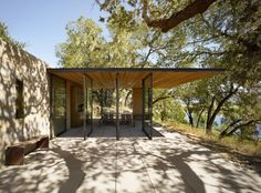 Wine Tasting Pavilions 02 850x630 Pavilions Designed by the American Architectural Firm Walker Warner Architects