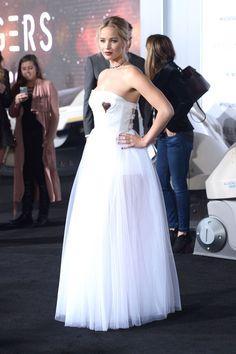 Jennifer Lawrence in Dior - Passengers Premiere, Los Angeles - December 14 2016