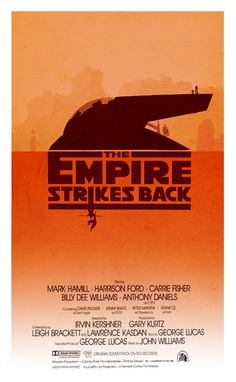 The Empire Strikes Back - Minimalist Poster by ~3ftDeep on deviantART
