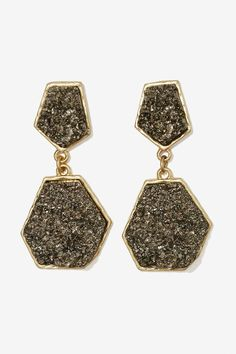 Rock with You Druzy Earrings