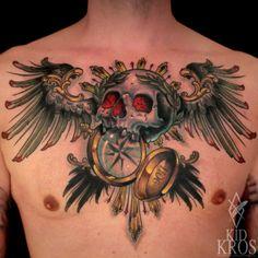 Tattoo done byKid-Kros in Erlangen Germany