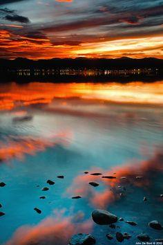 Sloan's Lake in Denver, Colorado