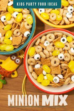 Kid's Party Food: Minion Mix #The7thMinion #CBias #Ad