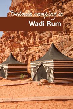The WanderingWagars go glamping in Wadi Rum, Jordan!