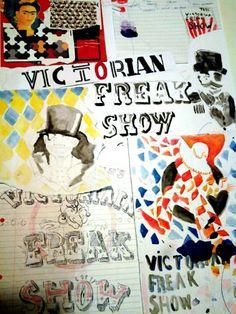 Title: Victorian Freak Show
