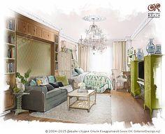 Дизайн детской комнаты для мальчика с ТВ-зоной  http://www.ok-interiordesign.ru/ph_dizain-detskoy-komnaty.php