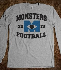 Monsters Football  WANT