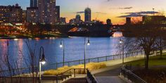 Boston from the cleaned up area now called North Point Park [OC][4800x2400]