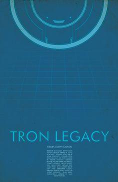 Tron Legacy Movie Poster -