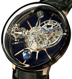 Tourbillon.  Very interesting watch face.  It looks intricate, yet uncluttered.