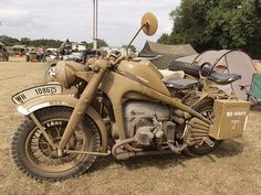 Zundapp with side car. the Zundapp WH 108675 Germany military motorbike