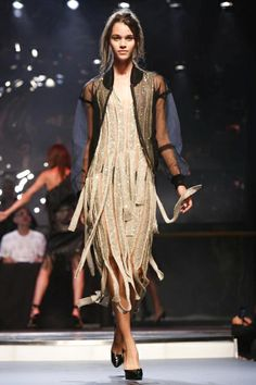 Jean Paul Gaultier Ready To Wear Spring Summer 2014 Paris - NOWFASHION