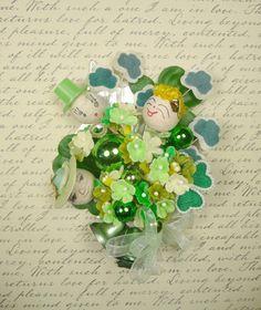 Vintage St Patricks Day Corsage My Irish Relatives