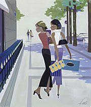 Les Parisiennes de Kiraz, musée Carnavalet, rétrospective, dessin, illustration, publicité, Jours de France, Playboy, Gala, Canderel: Les parisiennes de Kiraz