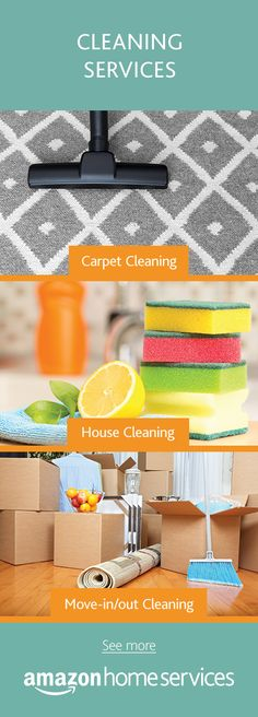 Sparkle sparkle. Who doesn't love a clean home? Hire professional cleaning services for move-in/out cleaning, carpet cleaning, or regular house cleaning directly on Amazon.