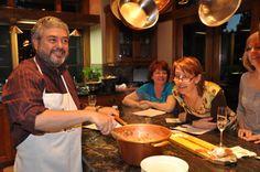 WTF Italian Cooking Class with Giuliano, Mushroom Risotto (Risotto ai Funghi)