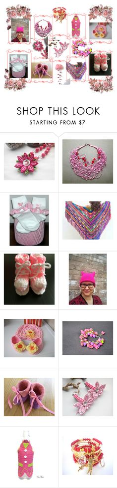 """""""Pink..."""" by lwitsa62 ❤ liked on Polyvore featuring interior, interiors, interior design, home, home decor, interior decorating and Capelli New York"""