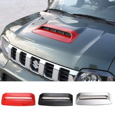 Find More Stickers Information about NEW Car Styling ABS Air Flow Intake Hood Scoop Vent Bonnet Cover Hood Chrome/Red/Black for SUZUKI Jimny,High Quality hood women,China chrome sticker Suppliers, Cheap hood magic from Mopai Auto Accessories on Aliexpress.com