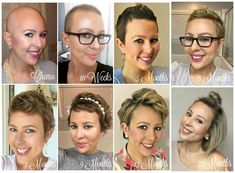 Short hair can be so much fun when you get comfortable experimenting. Here are 6 cute and easy hairstyles for short hair! Hairstyles on short hair, hair Growth Soft Curl Hairstyles, Old Hairstyles, Pretty Hairstyles, Hair Growth After Chemo, How To Curl Short Hair, Short Hair Styles Easy, Hair Starting, Hair Loss Remedies, Hair Regrowth