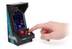iCade Jr. Mini Arcade Cabinet for iPhone from Picsity.com