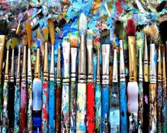 Your paintbrushes will give you hours of fun and satisfaction. All they need in return is a little TLC ...  http://www.cassart.co.uk/blog/brush-up_on_your_paintbrush-cleaning_techniques.htm
