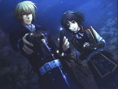 Hakuouki Shinsengumi Kitan: Yukimura Chizuru & Chikage Kazama