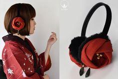 Japanese Outfits, Japanese Fashion, Girl Outfits, Cute Outfits, Fashion Outfits, Modern Kimono, Fashion Details, Fashion Design, Tribal Fashion