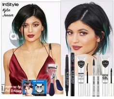 INSTYLE KYLIE JENNER USING EYEKO FOR #AMA